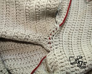 Kram cardi Crochet Along KT and the Squid