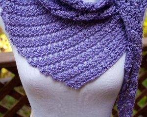 Main St. Shawl Free crochet pattern