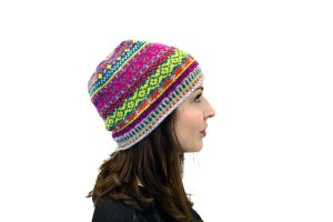 © Lux Adorna Knits Gretta Hat by Tanis Gray