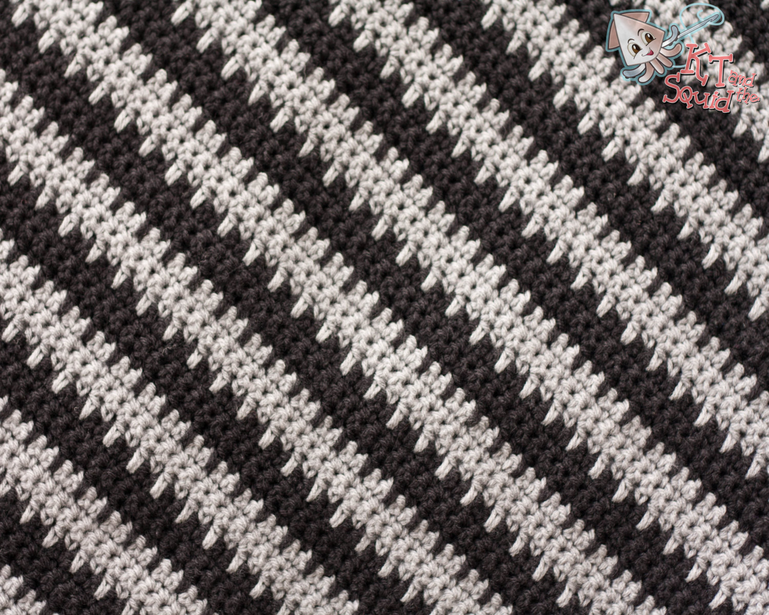 Spiky Man Blanket Crochet Pattern Kt And The Squid