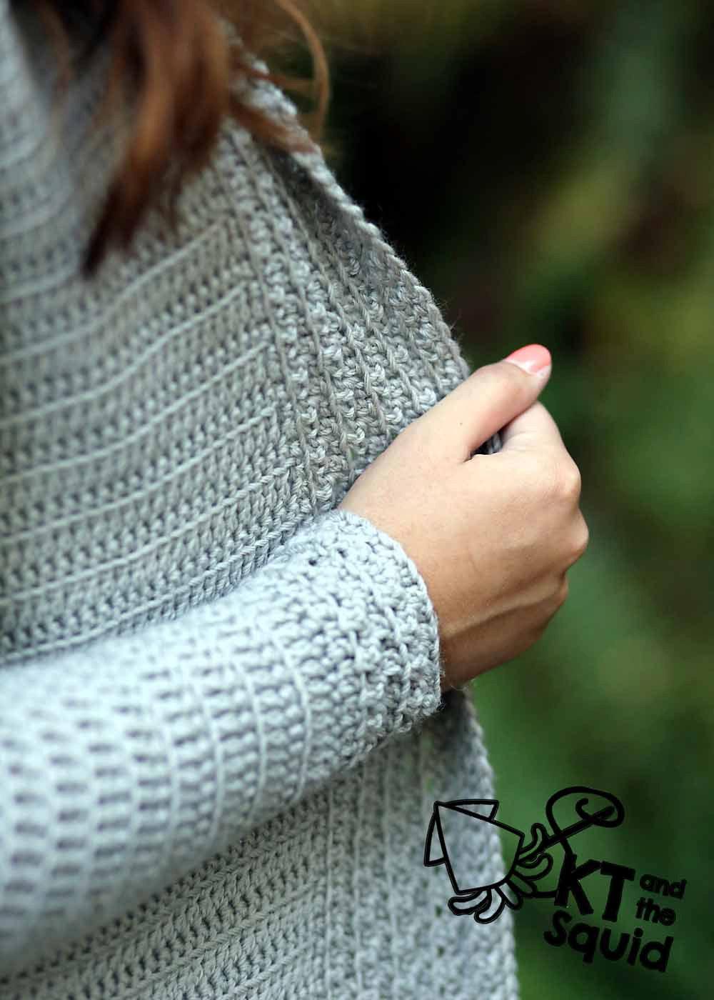 Kram Cardi Crochet Pattern Kt And The Squid
