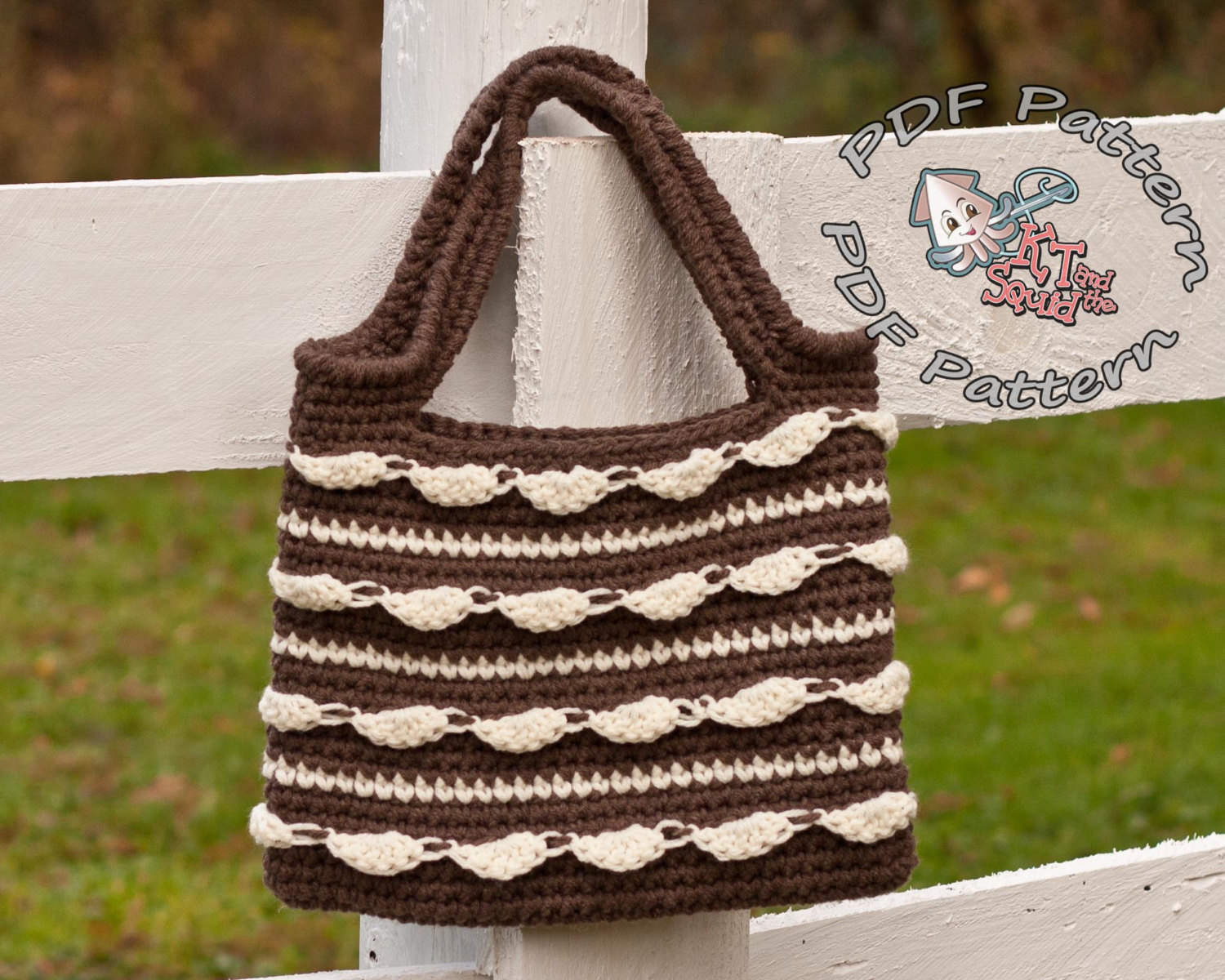 Cloud Dance Tote Crochet Pattern Kt And The Squid