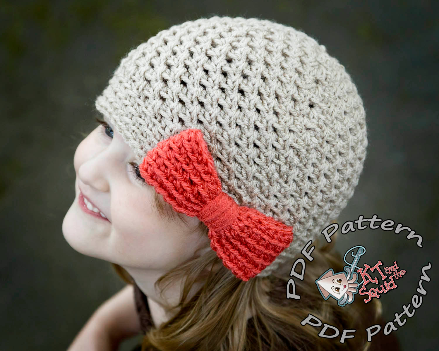 Picnic Bow Hat Crochet Pattern Kt And The Squid