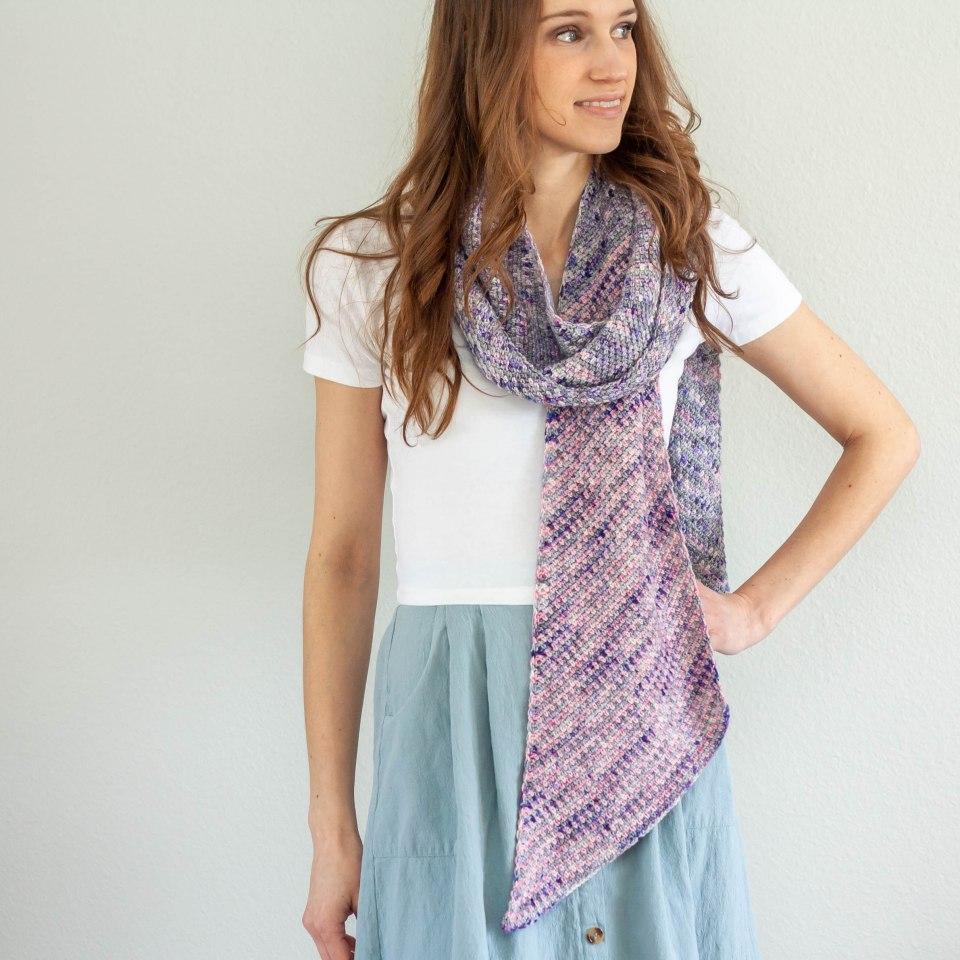 Aviva Scarf – Crochet Pattern