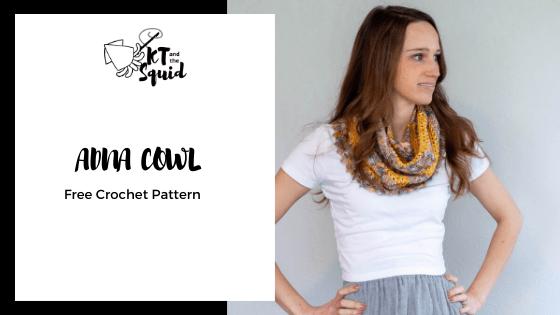Adna Cowl Free Crochet Pattern