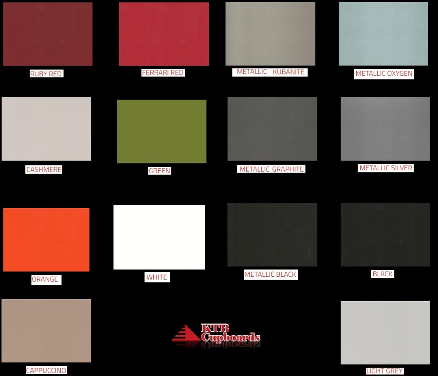 Melamine And Wrappe Colours