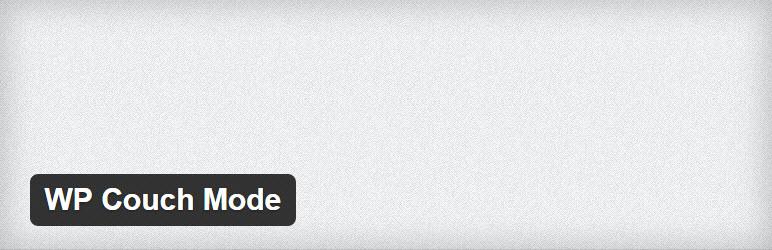 32 wp couch mode wordpress plugin 2016 wpexplorer