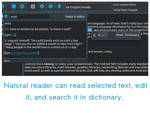 Natural Reader- A text to Speech Voice Reader released for