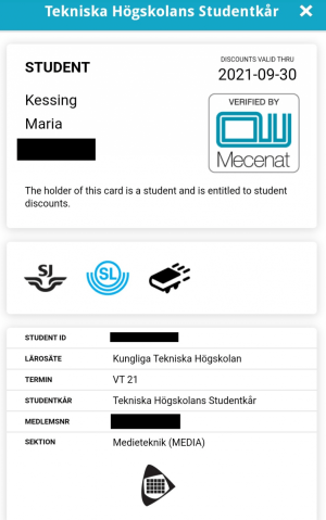 Mecenat card page 2