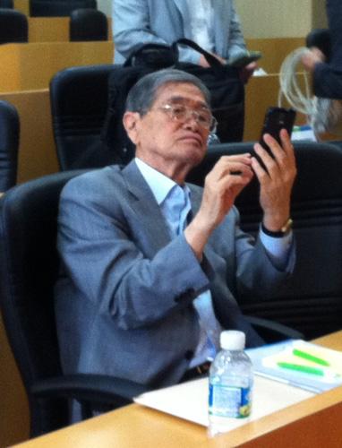 ICF Chairman Suk-kee Yoh