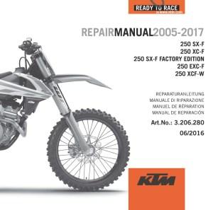 AOMCmx: KTM DVD Repair Manual 250 4T 0516