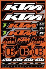 Aomc Mx D Cor Decal Sheet Misc Logos 12 Quot X18 Quot