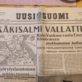 Sanomalehtikatsaus – Suomen sotapropaganda ja viholliskuvan luominen (Osa 1)