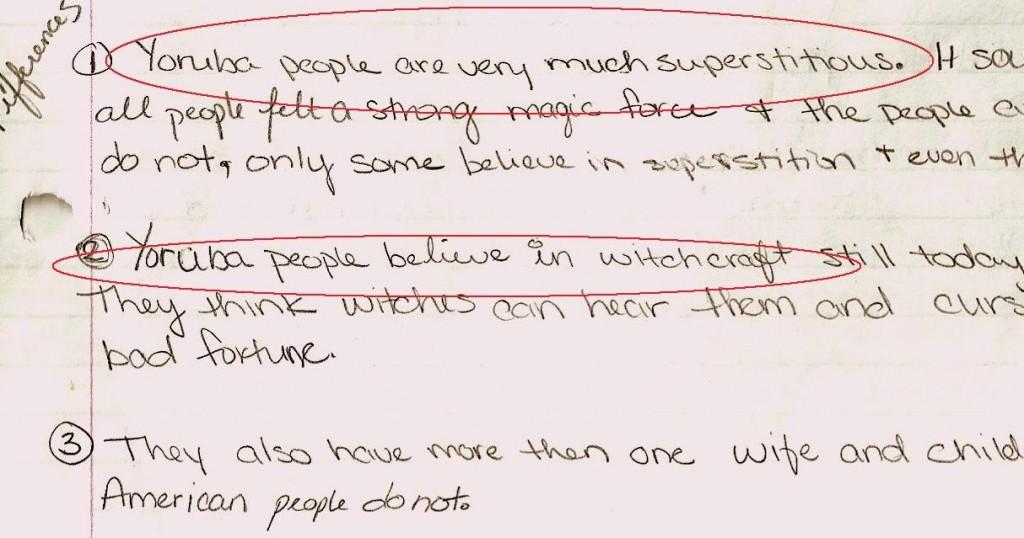 A Class homework