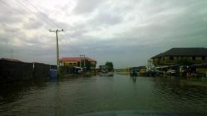 Lekki, after rainfall