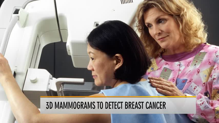 Healthy Life, Happy Life: 3D mammograms