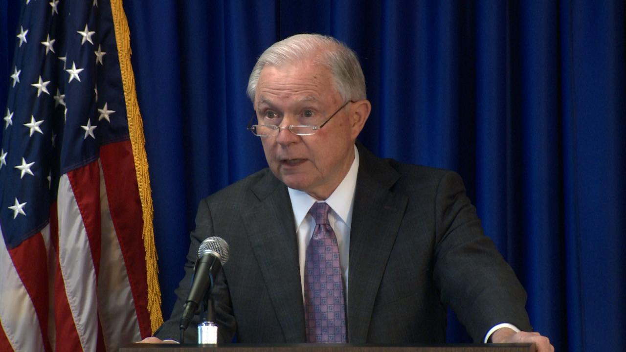 U S  AG Jeff Sessions Visits Texas Friday