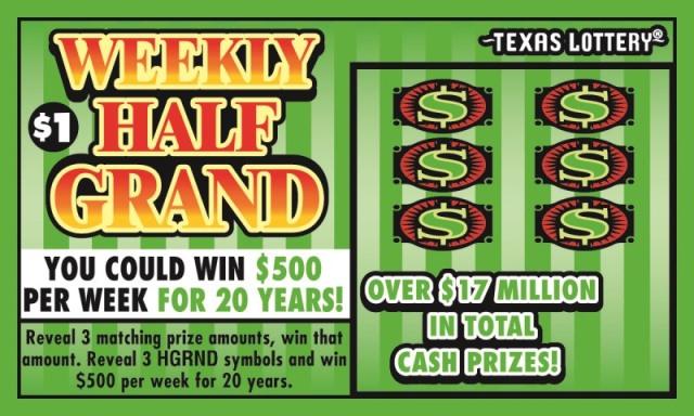 El Paso man wins nearly $400k in Texas Lottery scratch off