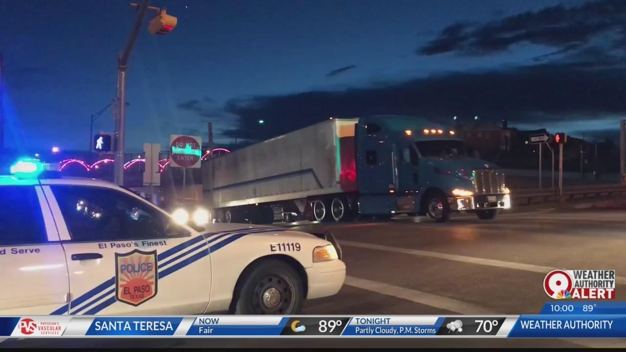 I-10 traffic closures el paso texas