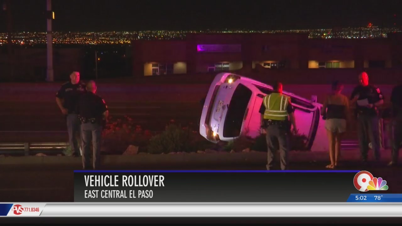 Two accidents send three to El Paso hospitals Thursday morning