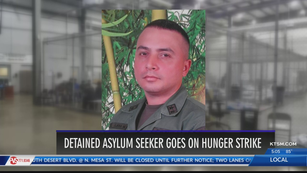 Asylum seeker goes on hunger strike after being detained in El Paso for two years