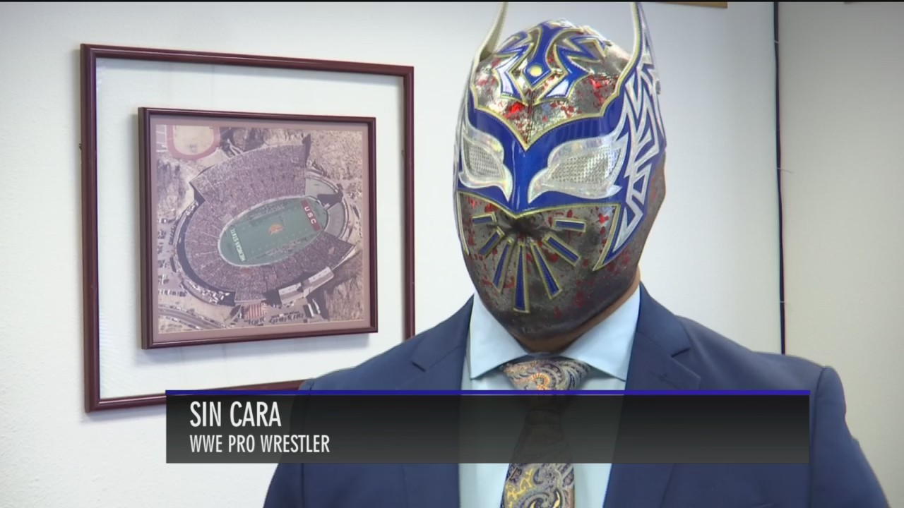 WWE's Sin Cara back in El Paso