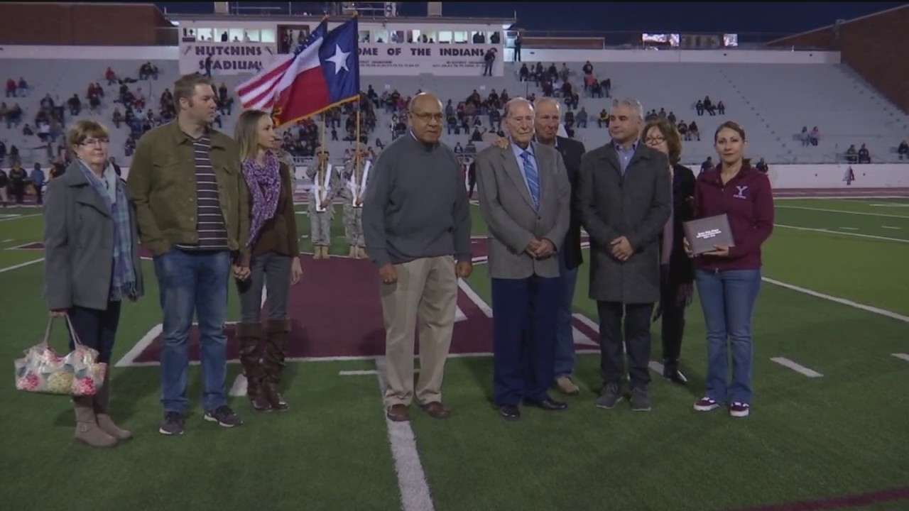 WWII vet receives diploma 74 years after leaving Ysleta High School to join Army