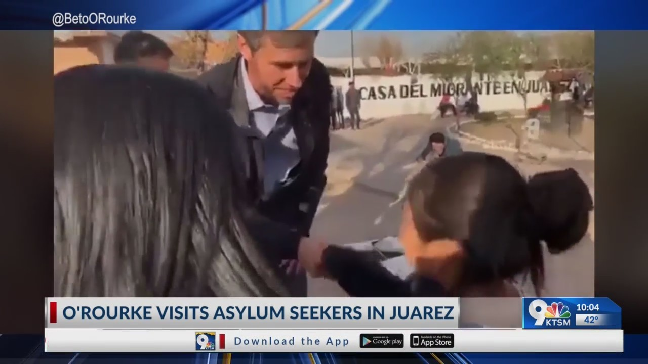 El Paso Congressman met with families seeking asylum in Juarez