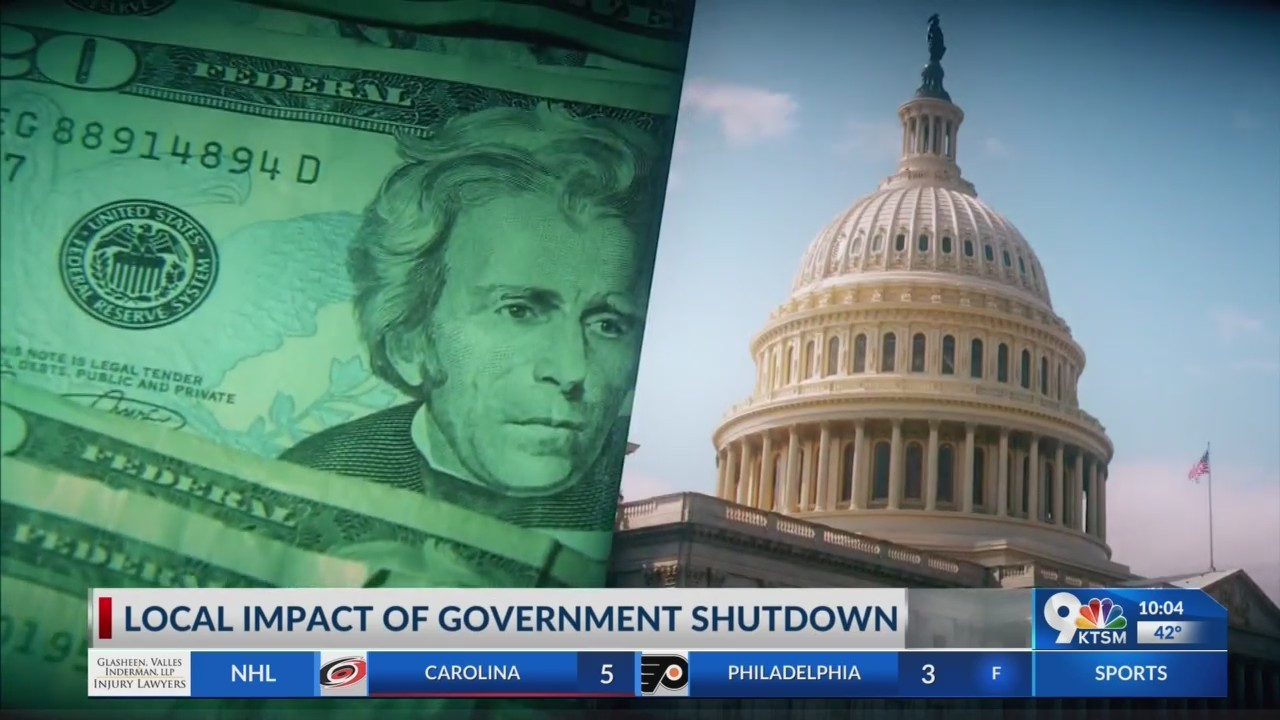 Local impact of partial government shutdown
