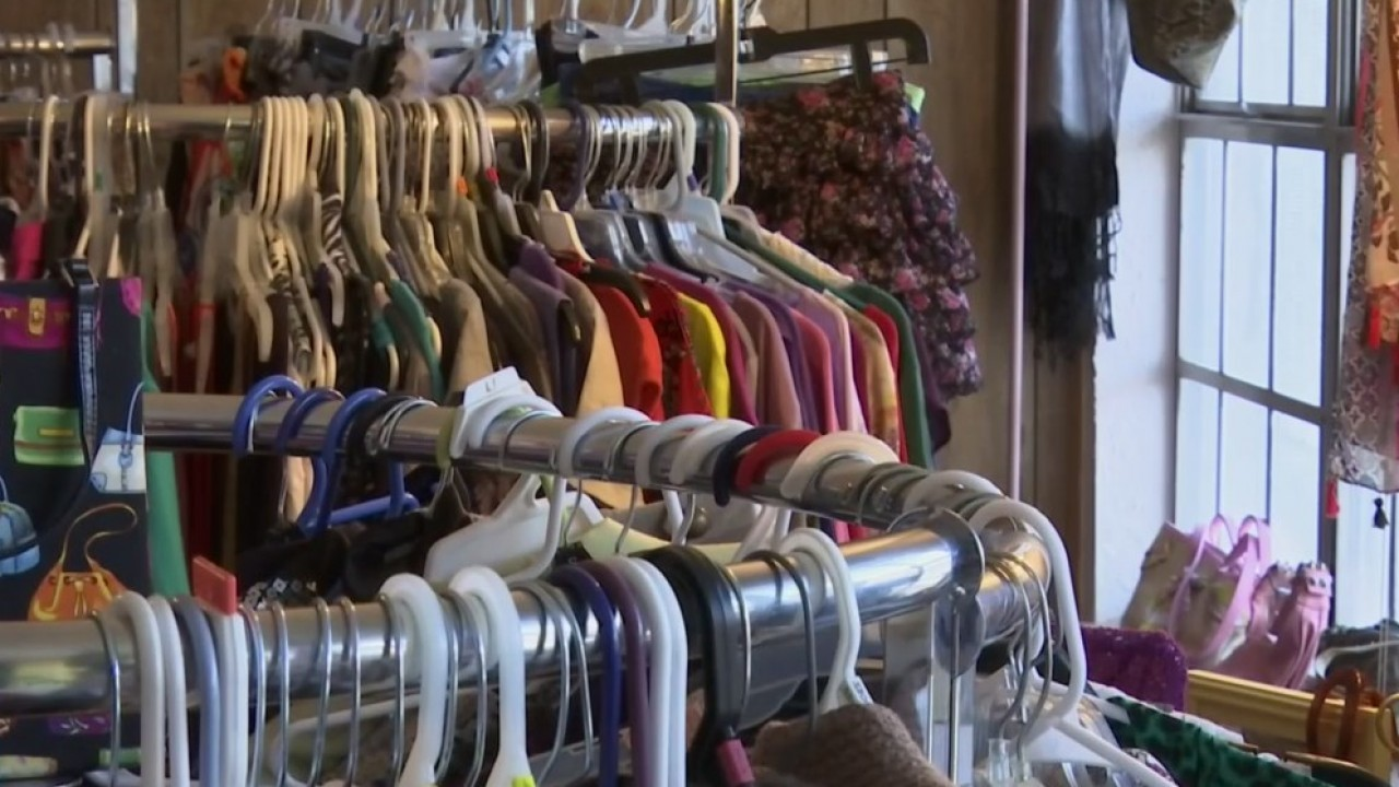 Burges High School's student-run thrift store celebrates first year