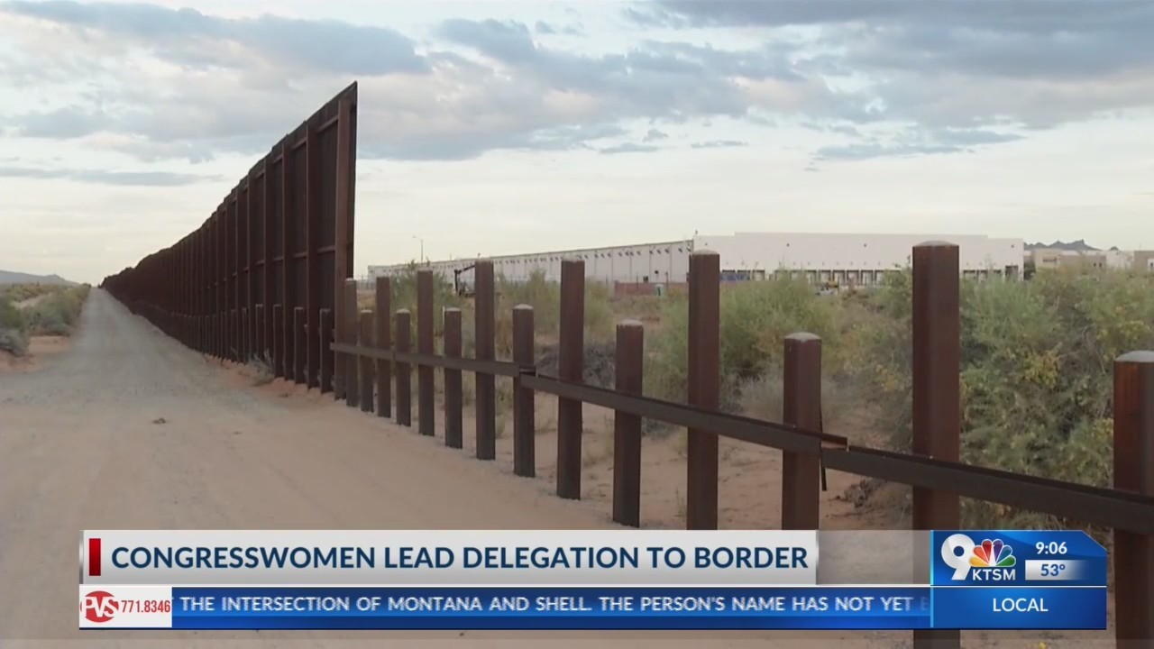 Congresswomen Escobar and Torres Small lead delegation to border