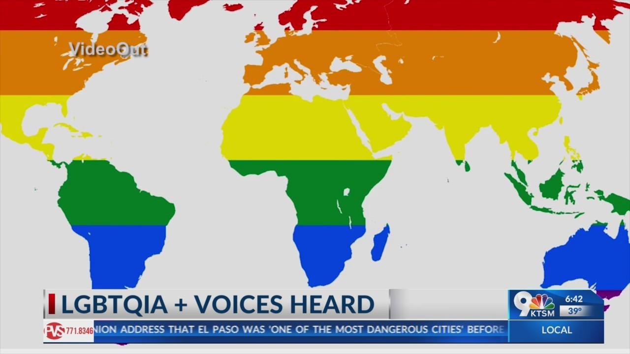 El Paso's LGBTQIA + community get's natioanl attention