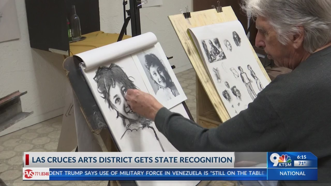 Las Cruces recives state recognition for Arts & Culture district