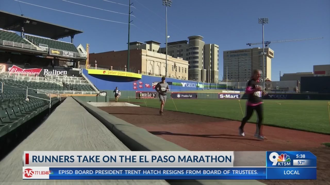 Runners take on the El Paso Marathon