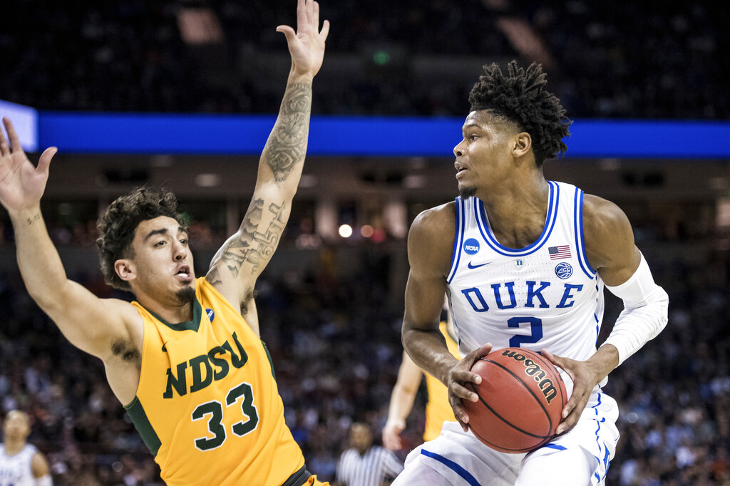 NCAA N Dakota St Duke Basketball_1553980299952