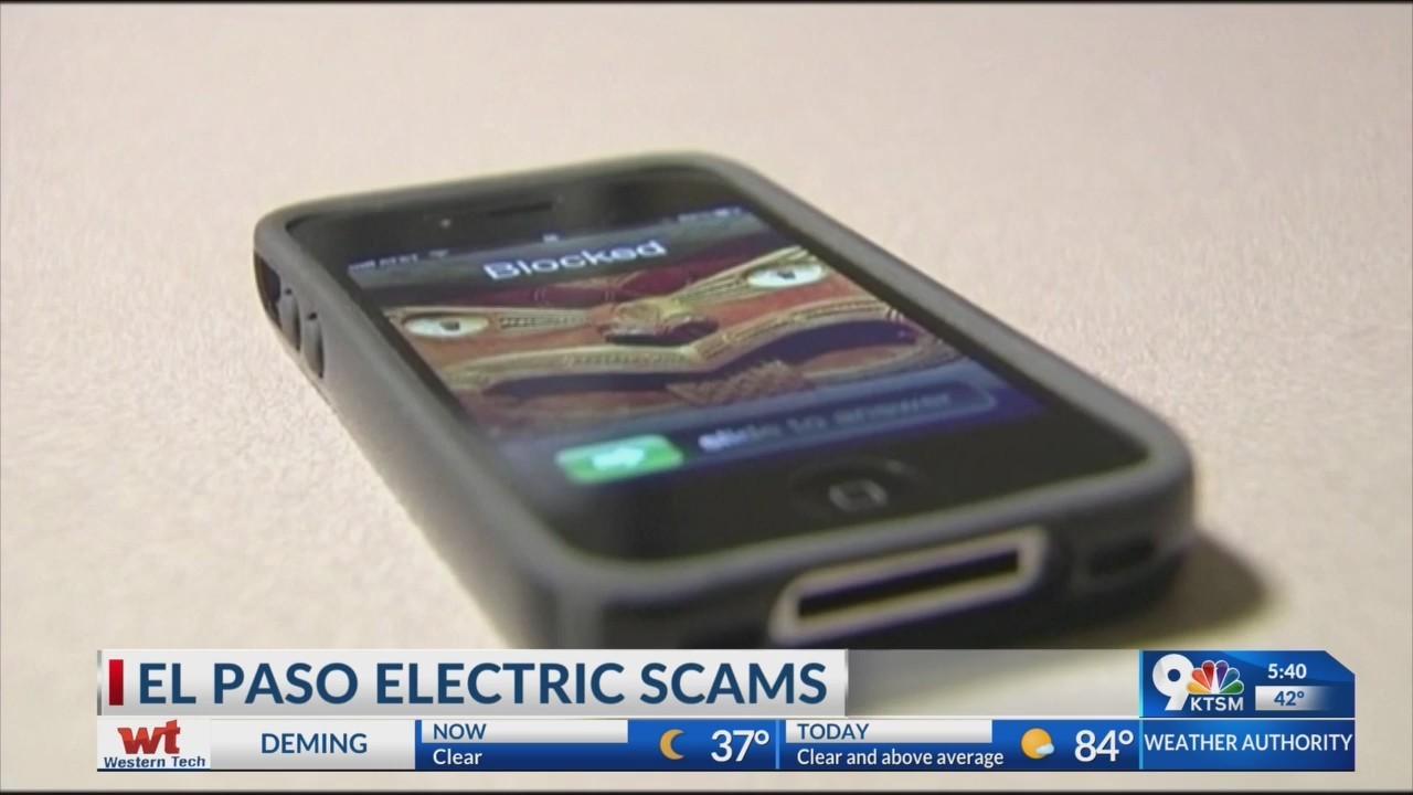 El Paso Electric phone scams