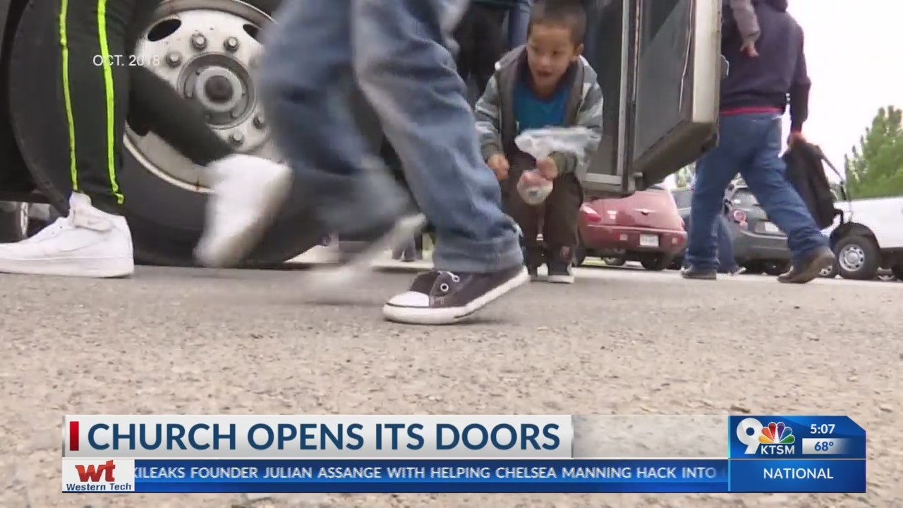 Las Cruces Church opens their doors to migrants