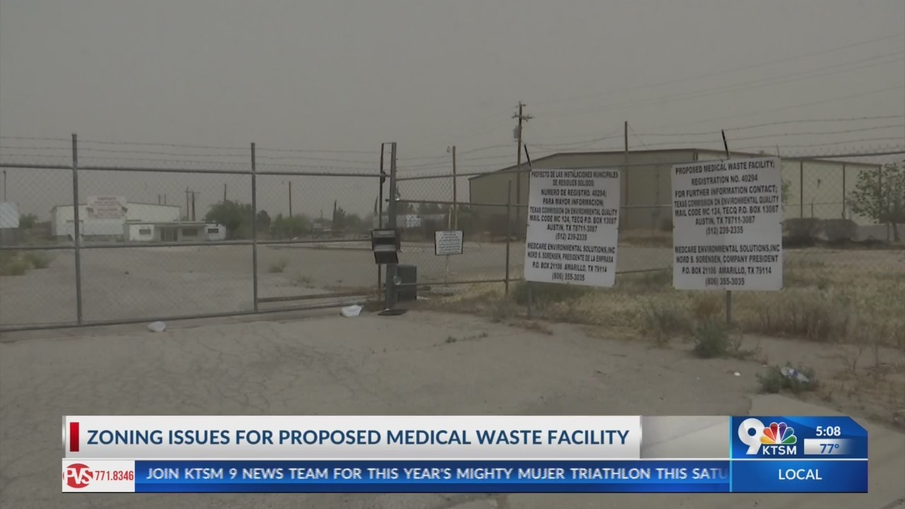 Local leaders continue to oppose location for proposed medical waste facility