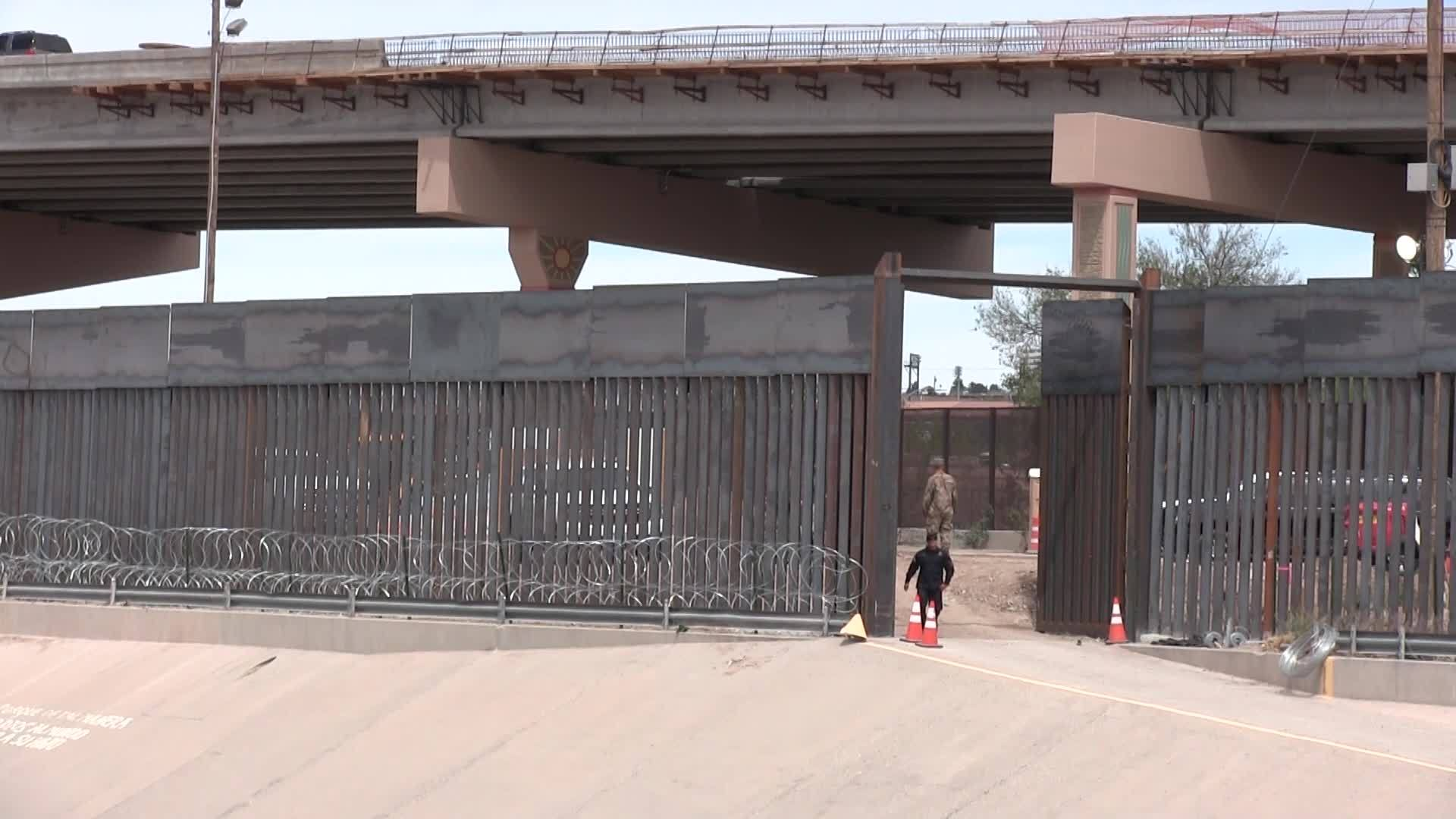 Military helps CBP with 'border hardening measures' amid migrant influx