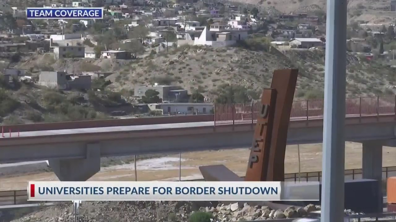 UTEP prepares for possible border shutdown