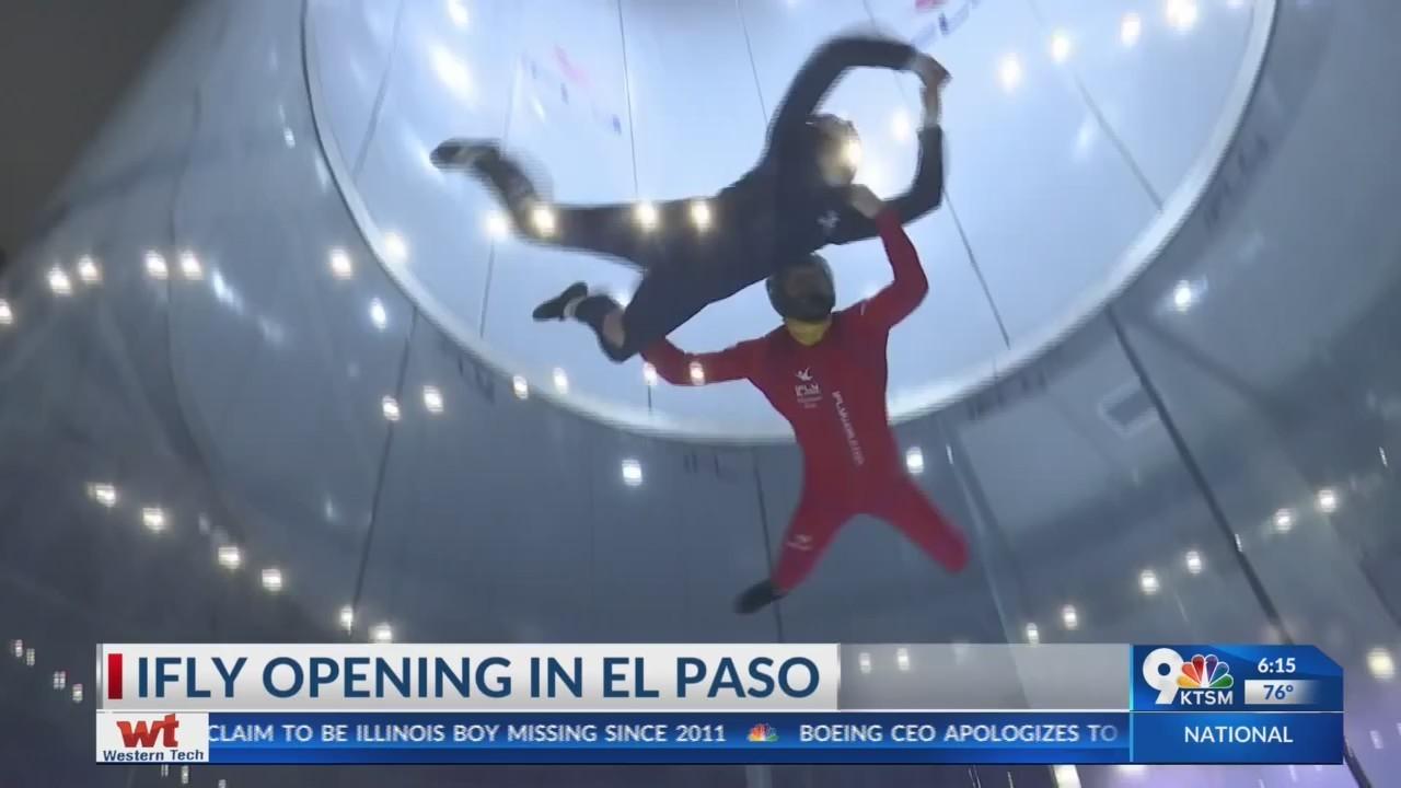 iFly opens in El Paso