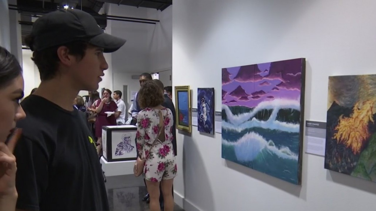 El Paso Museum of Art displays Socorro ISD students' artwork
