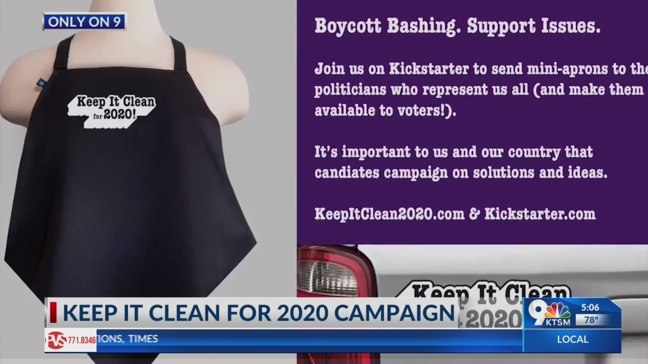 Keep it clean for 2020 campaign