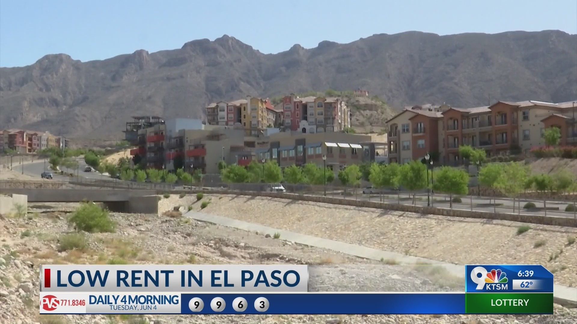 El Paso rent rates low compared to other cities
