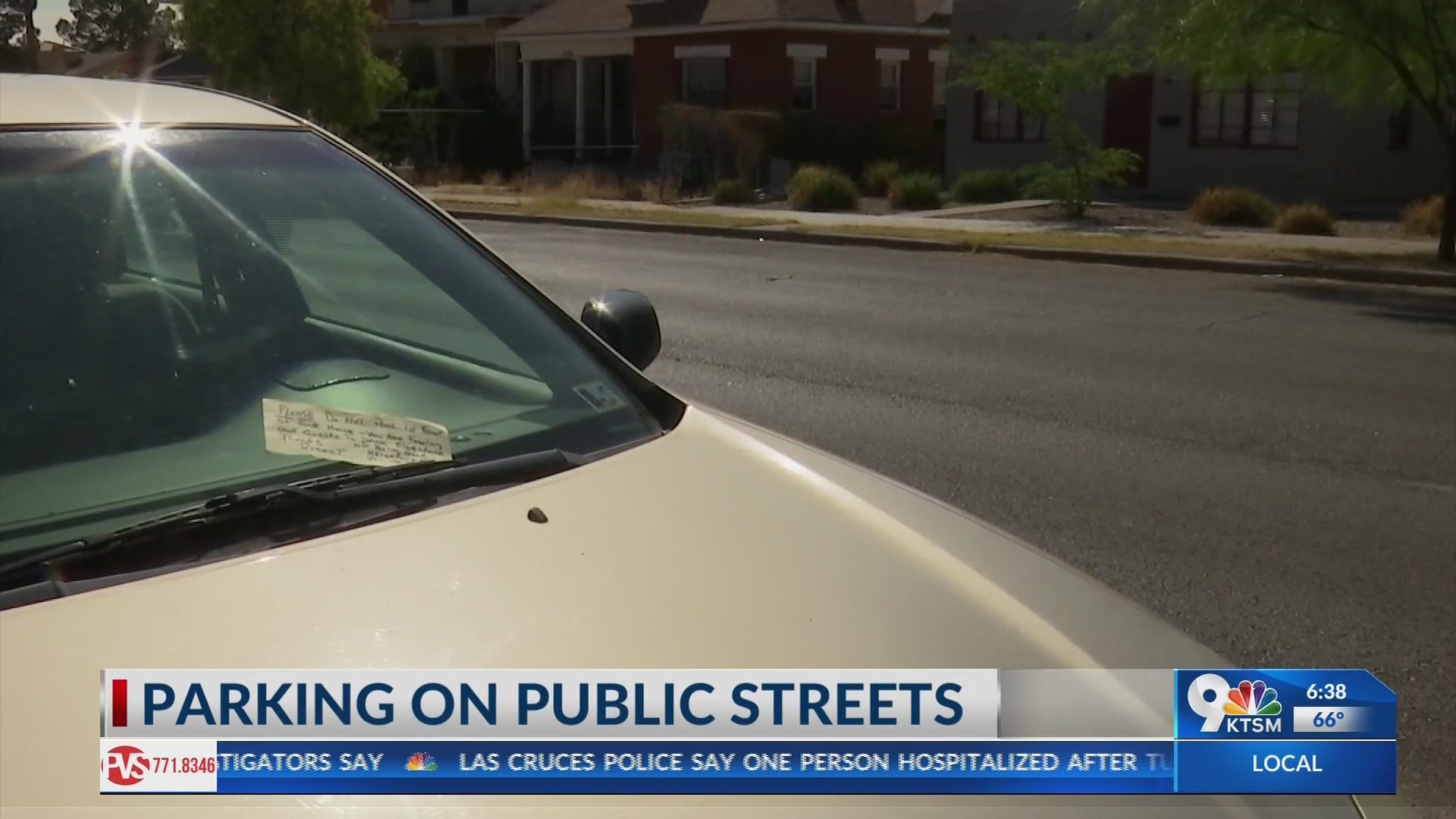 Neighbors dispute over parking in Central El Paso