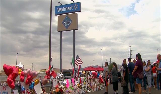 Makeshift memorial brings El Paso community and beyond together