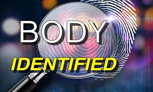 Body found in Trenton on Monday identified