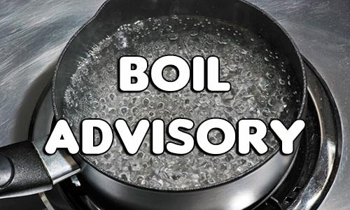Boil Water Advisory