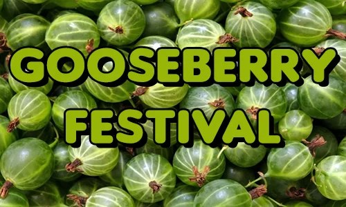 Schedule of Saturday events at the Gooseberry Festival in Trenton