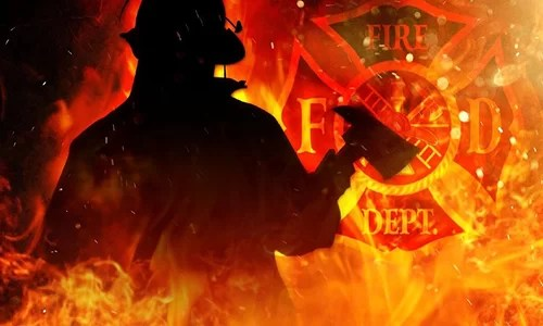 Spickard firefighters respond to shed fire